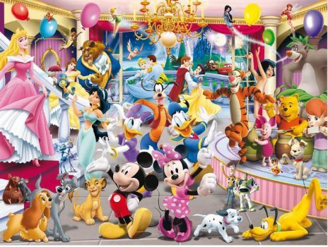 Disney dance party (221 pieces)