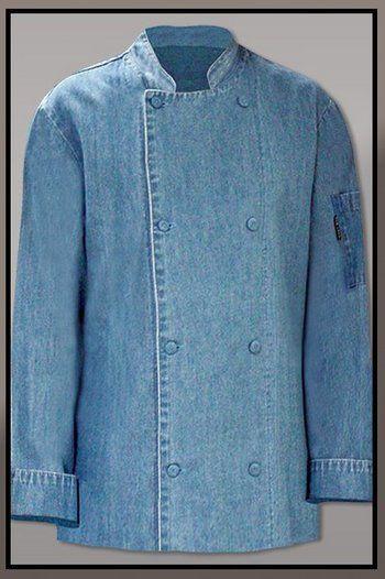2c124a398d8 chaqueta chef denim … | minglemush | Chaqu…