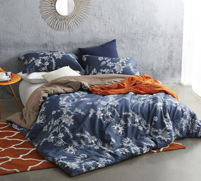 Extra Long Twin Xl Comforter Stylish Moxie Vines Design