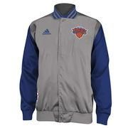 #NBAStore.com - #NBAStore.com Mens New York Knicks adidas Gray 2014 Second Half On-Court Jacket - AdoreWe.com