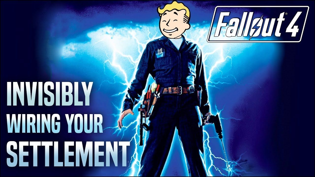 Invisible Wiring Across Your Entire Settlement ⚡ Fallout 4