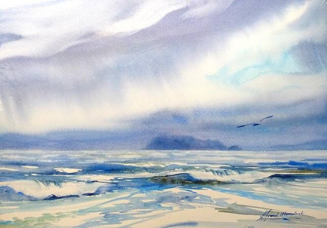 Newest Watercolour Paintings By Alfred Memelink Watercolor