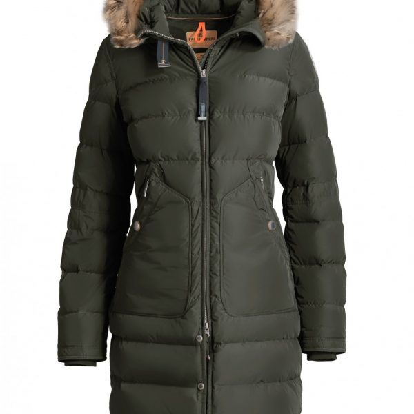 Rot Parajumpers High Fill Power Light Long Bear Parka