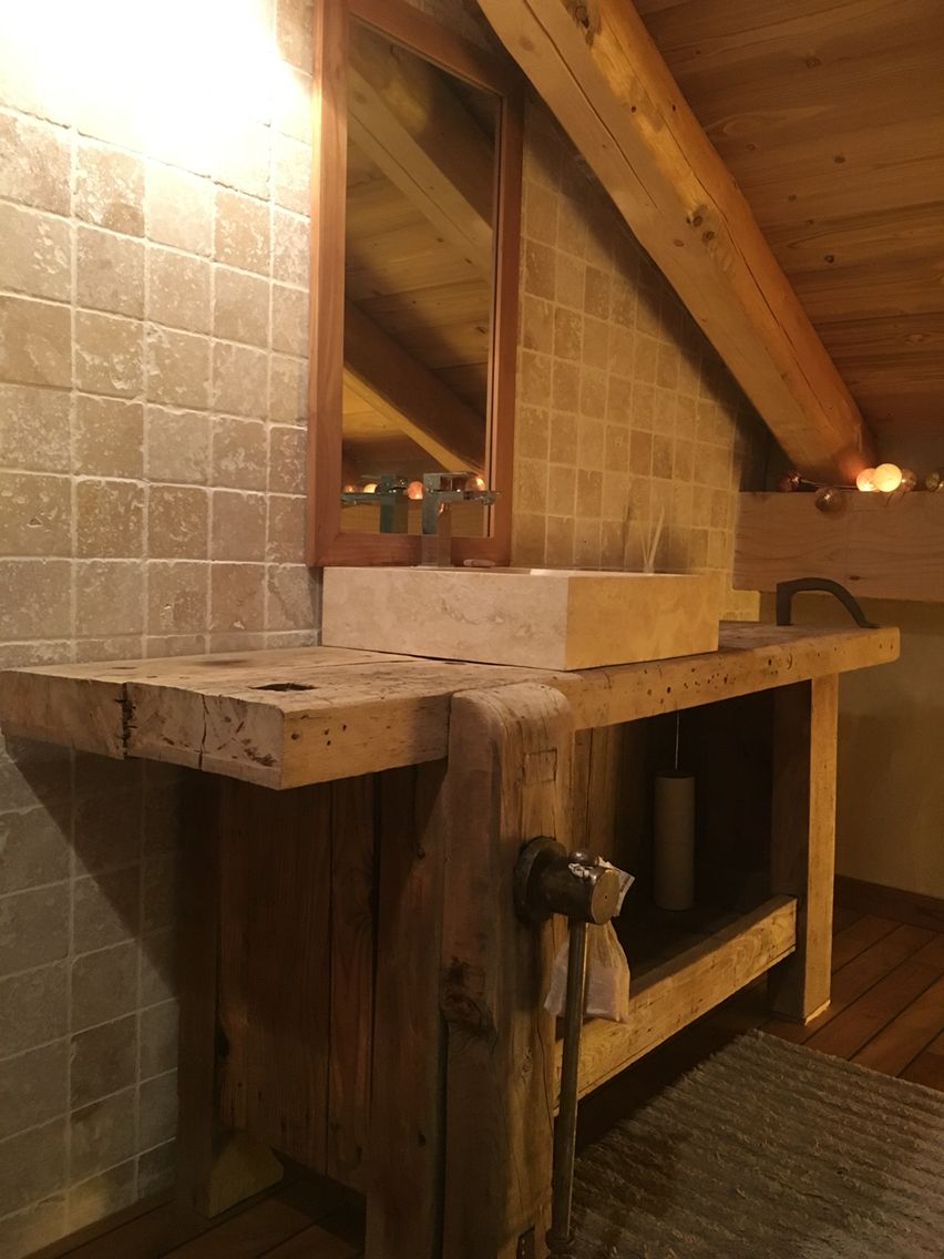 Salle de bain Établi  Aménagement salle de bain, Idée salle de