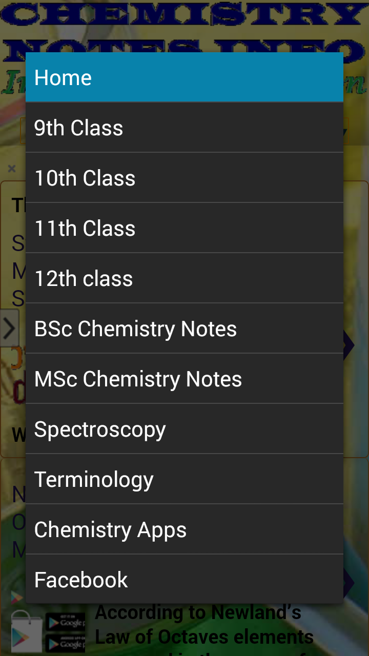 Chemistry apps chemistry notes info innovative online chemistry apps chemistry notes info innovative online education classes 9 10 11 urtaz Image collections