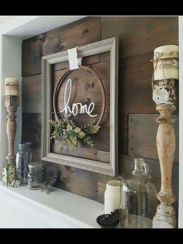 farmhouse decor -   24 apartment fireplace decor ideas
