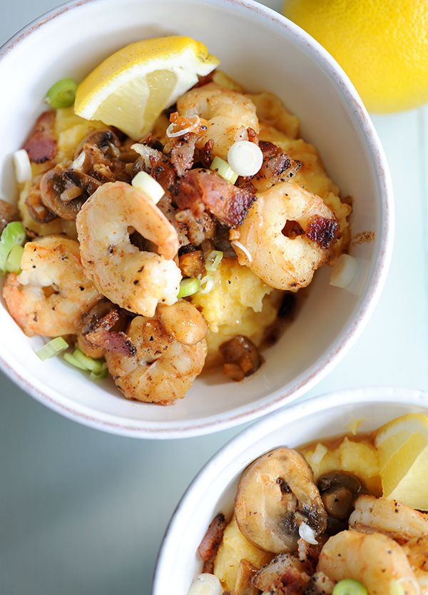This Shrimp and Grits recipe makes for the perfect summer supper