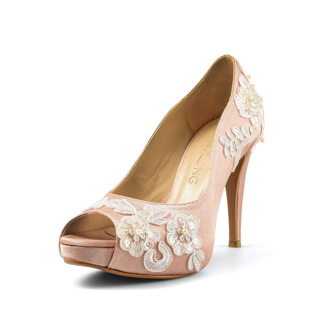 Aloha Nude pin on christy ng: ready made wedding heels