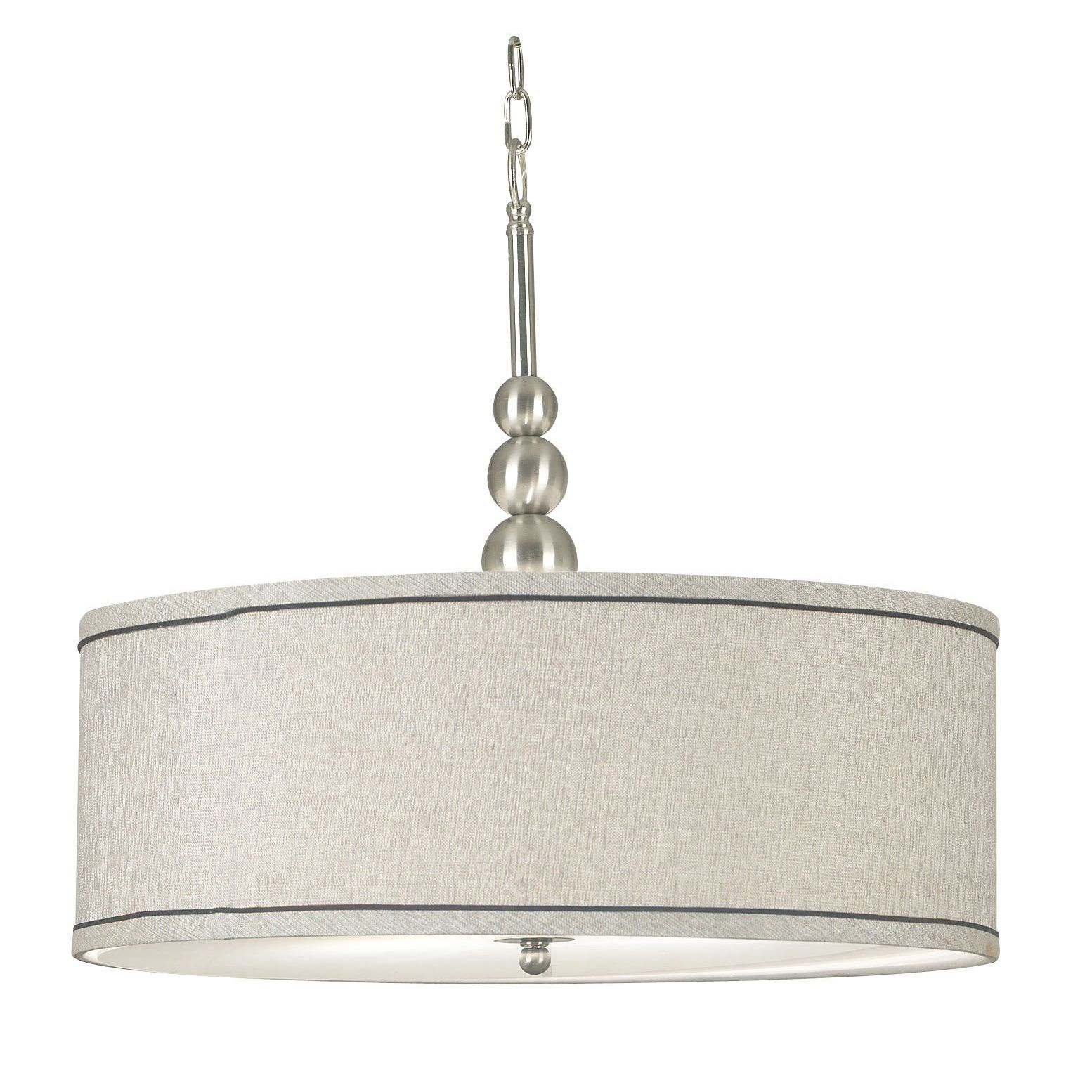 Update your home decor with this Stewart Three Light Pendant This