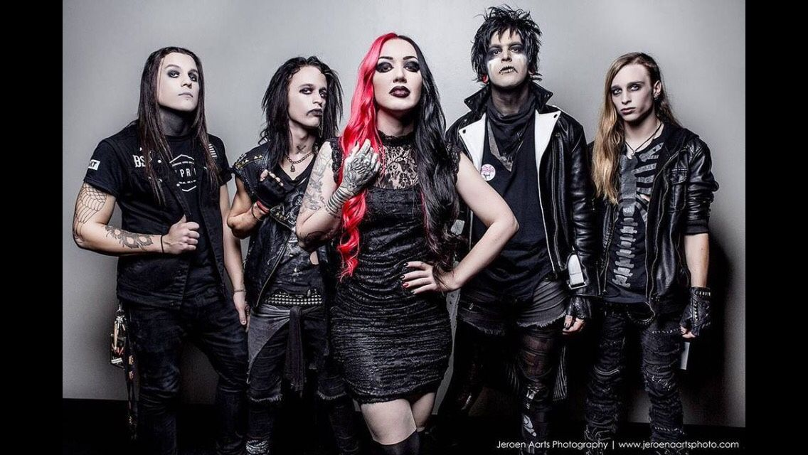 Ash Costello of New Years Day New years day band, Ashley