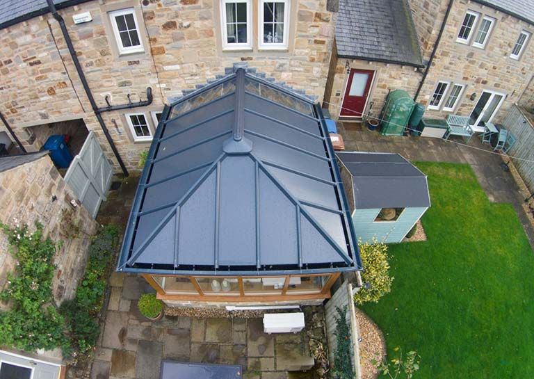 Livin Roof System At Http Kingsbridgelocal Co Uk Replacement Roofs Livinroof Conservatory Roof Replacement Conservatory Roof Conservatory Design