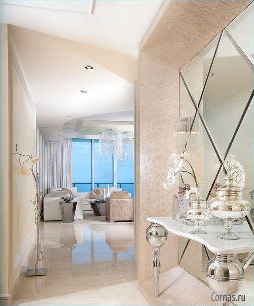 Fantastic Foyer Ideas To Make The Perfect First Impression: Зеркальная плитка: варианты использования в интерьере