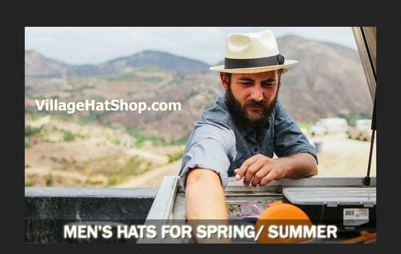 VillageHatShop.com Men s Spring   Summer Hats  0b26b10cd46