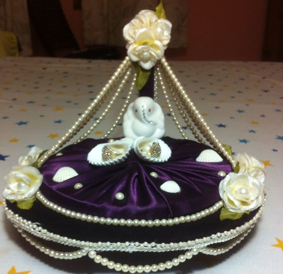 Ring platter made by me | My creation | Pinterest | Ring ...