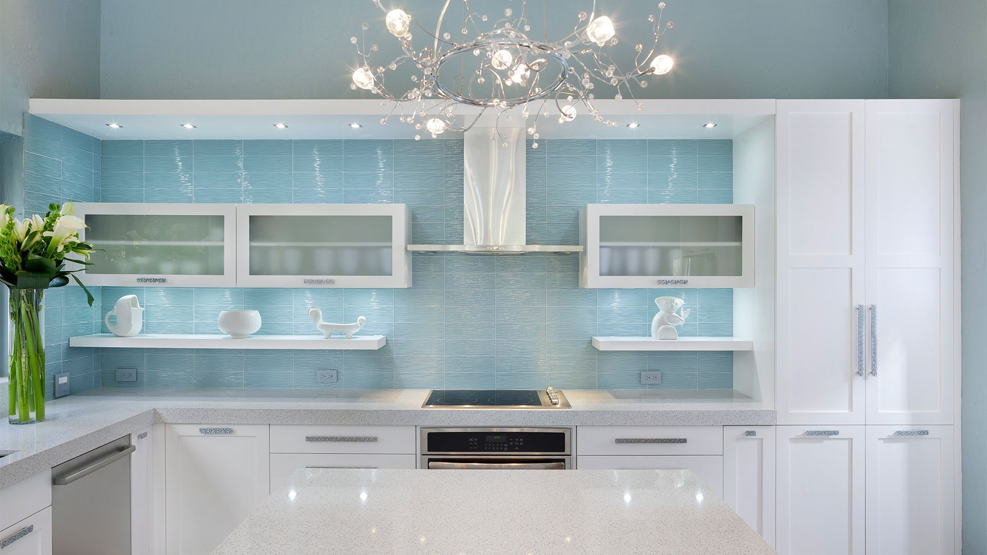 Custom Kitchens And Bathrooms Of South Florida The Place For Kitchens And Baths Boca Raton I Contemporary Kitchen Grey Kitchen Colors Kitchen Room Design