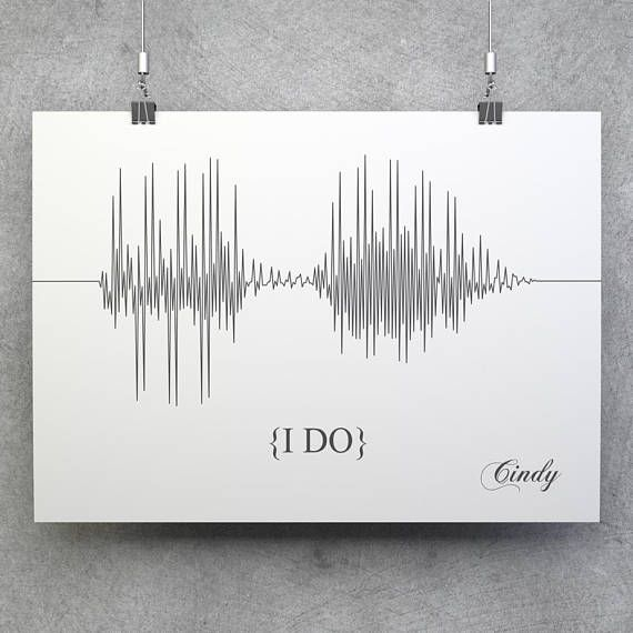 Custom Sound Wave, Sound Wave Print, Voice Wave Print, Sound