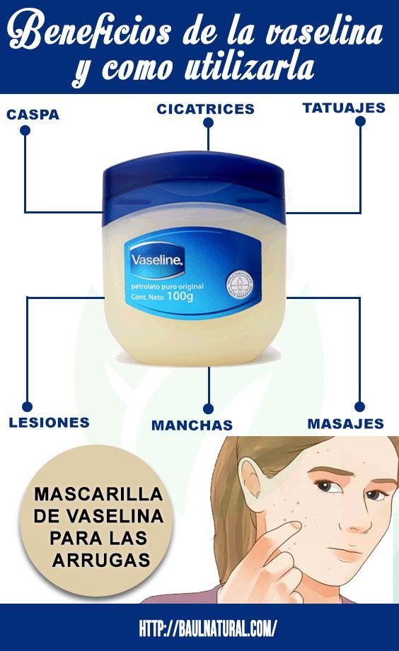 Vaselina para la cara reseca