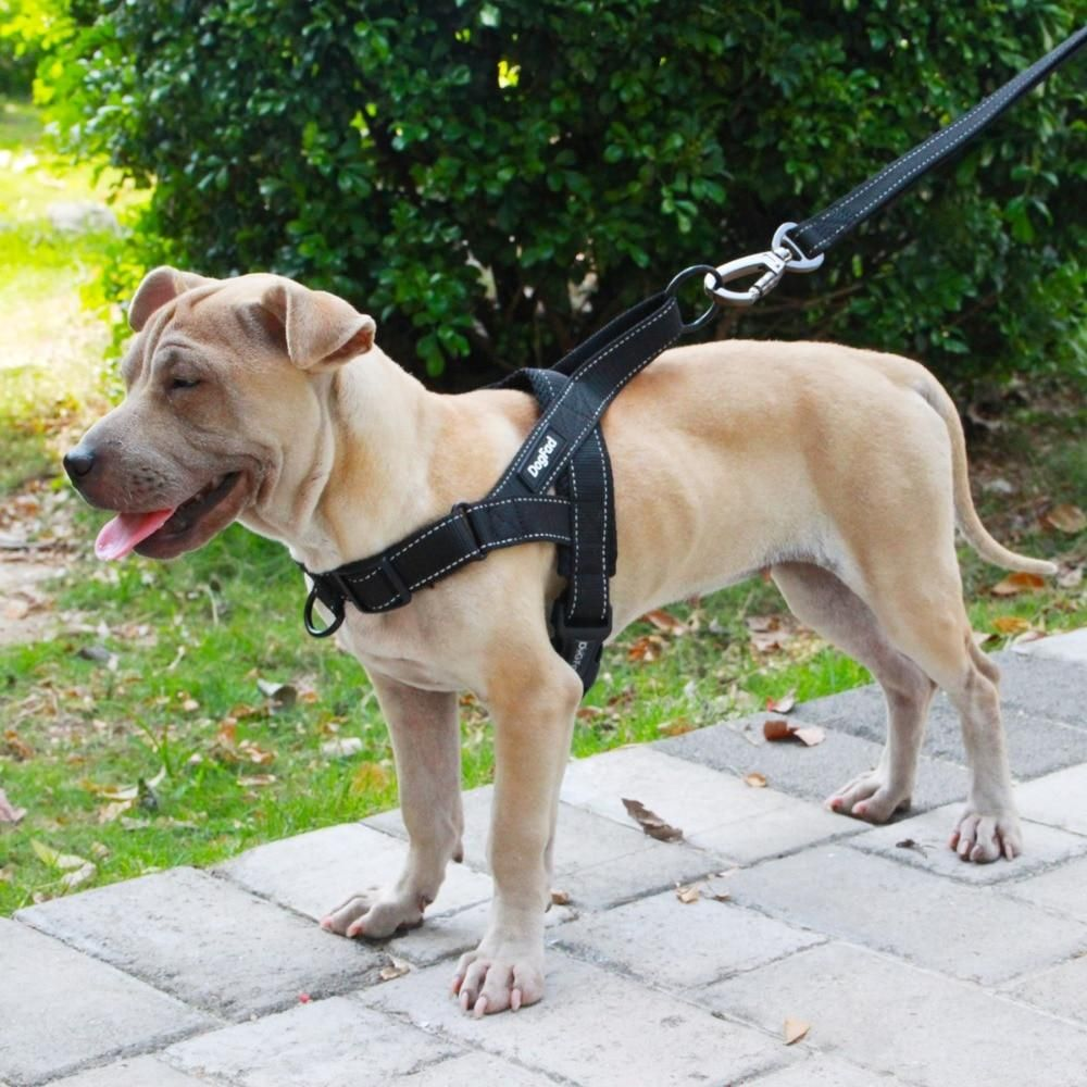 Dog Harness Easy On And Off Adjustable Reflective No Pull Training