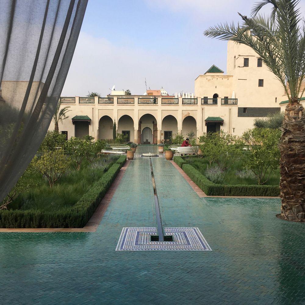 Le jardin secret marrakech two very different gardens for Le jardin secret marrakech
