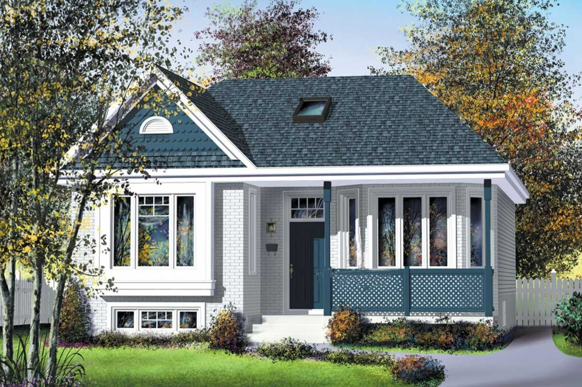 Plan 80005pm Country House Design Cottage Style House Plans Bungalow House Plans
