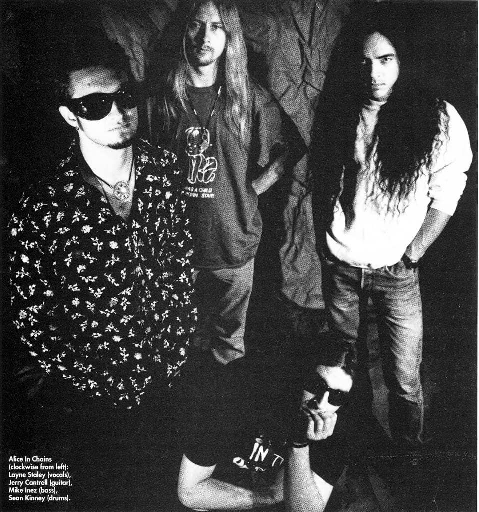 Alice Aliceinchains Aic Laynestaley Jerrycantrell