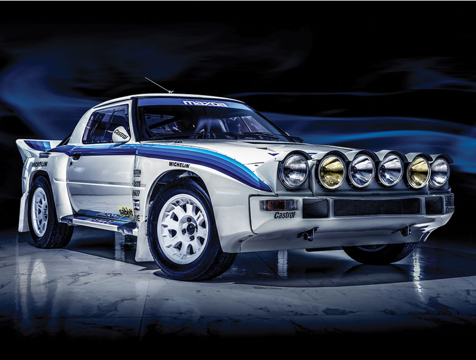 This Unbelievable Mazda Rx 7 For Sale Is Probably The Only Unused Group B Car In The World Mazda Rx7 Rally Car Mazda