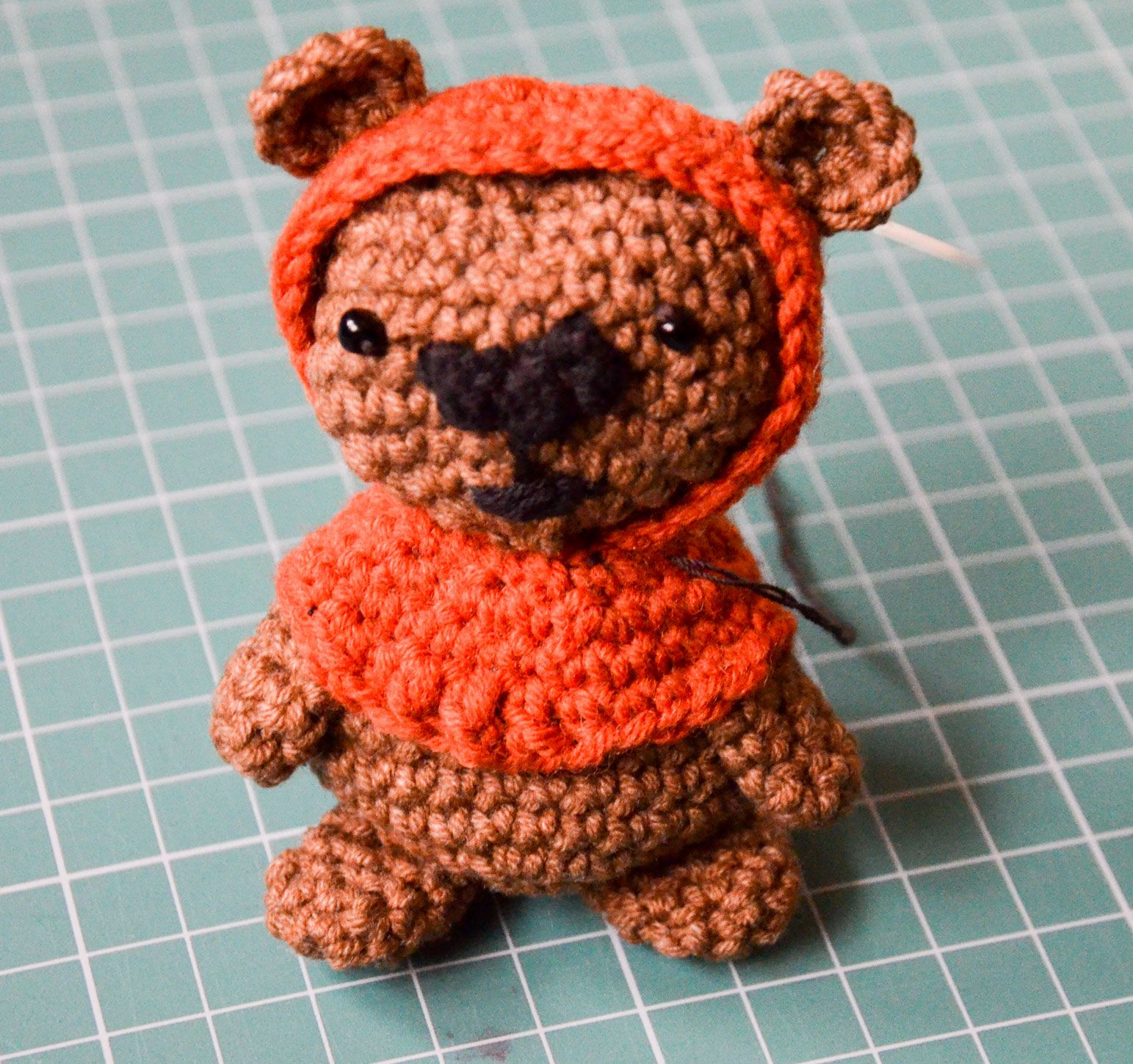 Krawka: Ewok Bear from Star Wars movie - totally free crochet ...