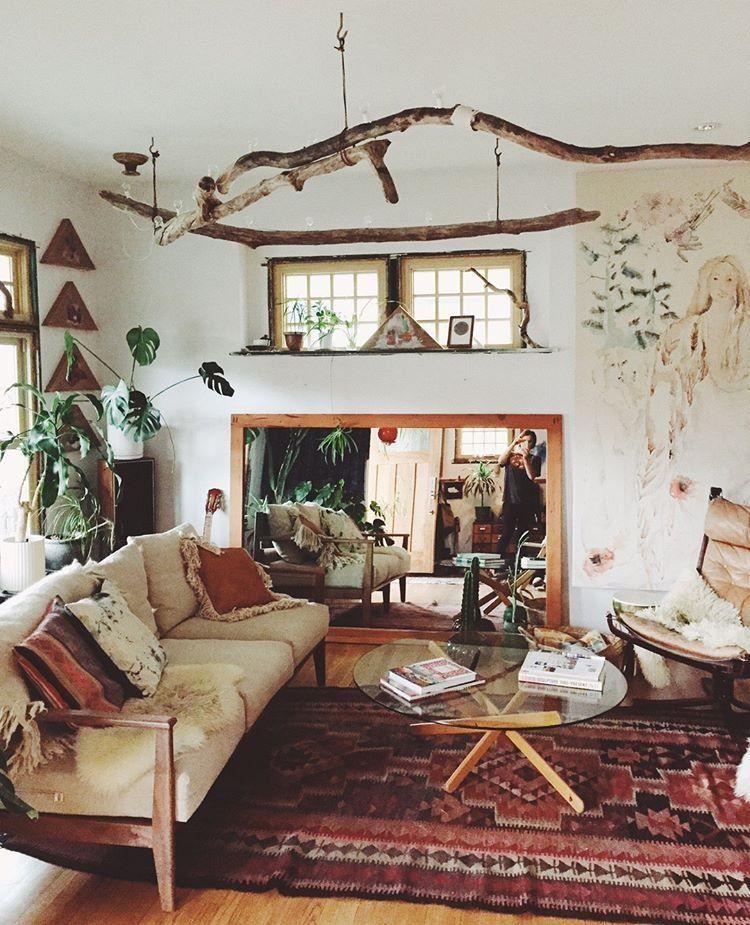 16 Bohemian Interior Design Ideas Boho Woonkamer Boheems