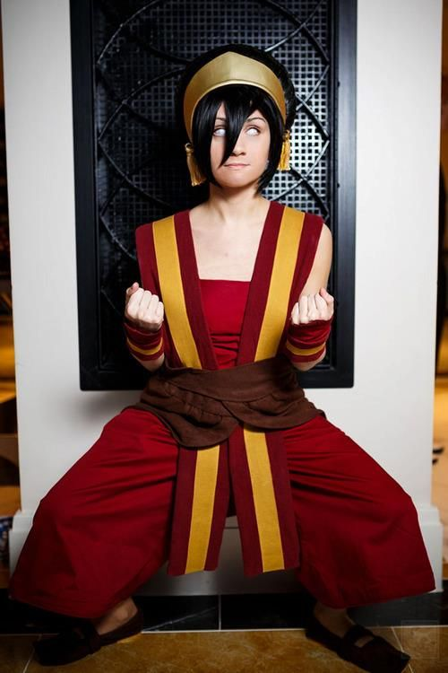 toph fire nation style cosplay fire nation cosplay the last