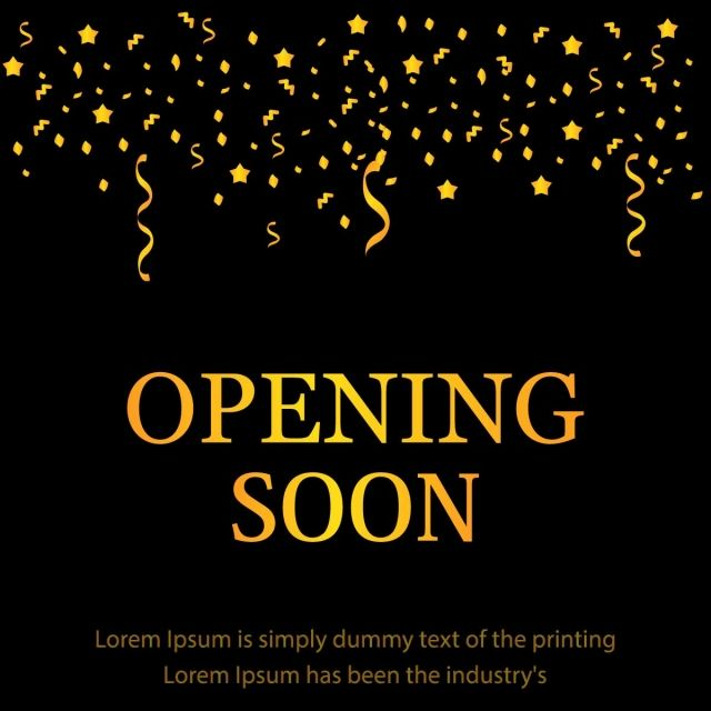 Opening Soon Black Design Black Icons Opening Grand Png And Vector With Transparent Background For Free Download Design Black Design Instagram Story