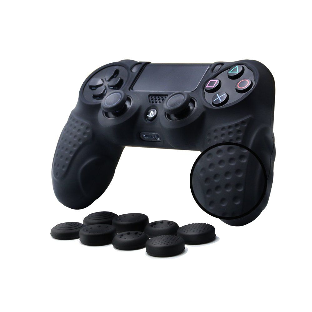 Chinfai Ps4 Controller Dualshock 4 Skin Grip Antislip Silicone