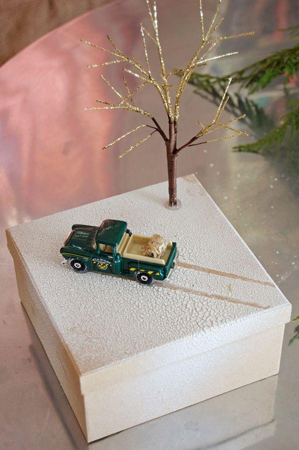 Christmas Present Dioramas Up Close