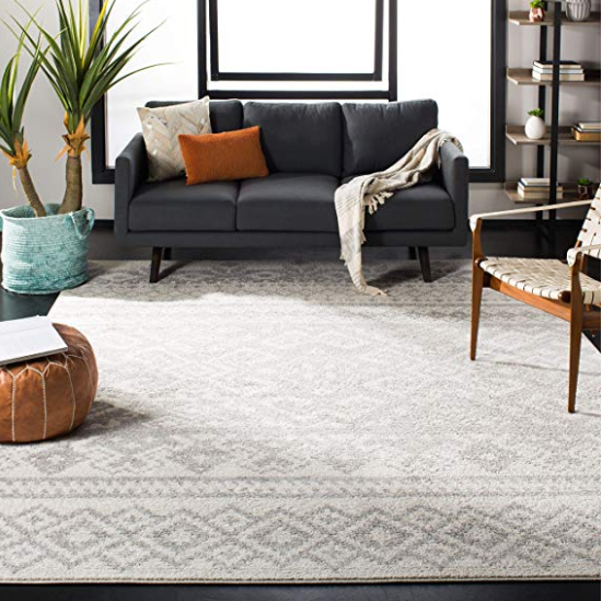 Boho Rug Contemporary Decor Living Room Bohemian Area Rugs Rugs In Living Room