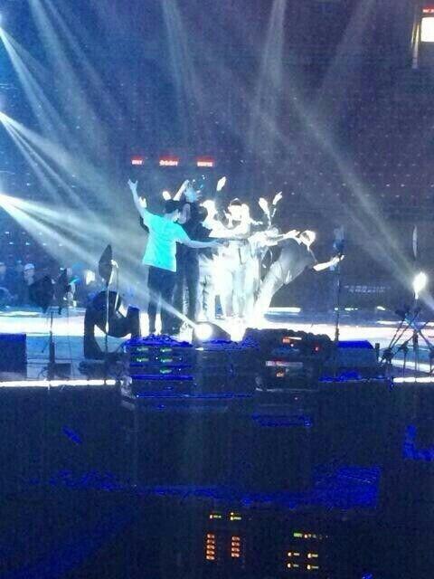 EXO Rehearsal