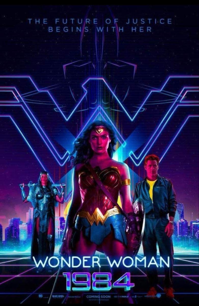 Wonder Woman 1984 En 2021 Wonder Woman Mujer Maravilla Gal Gadot