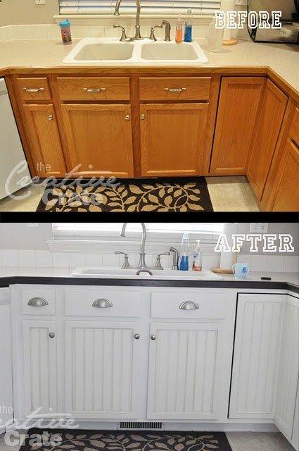 My Kitchen Cabinet Transformation