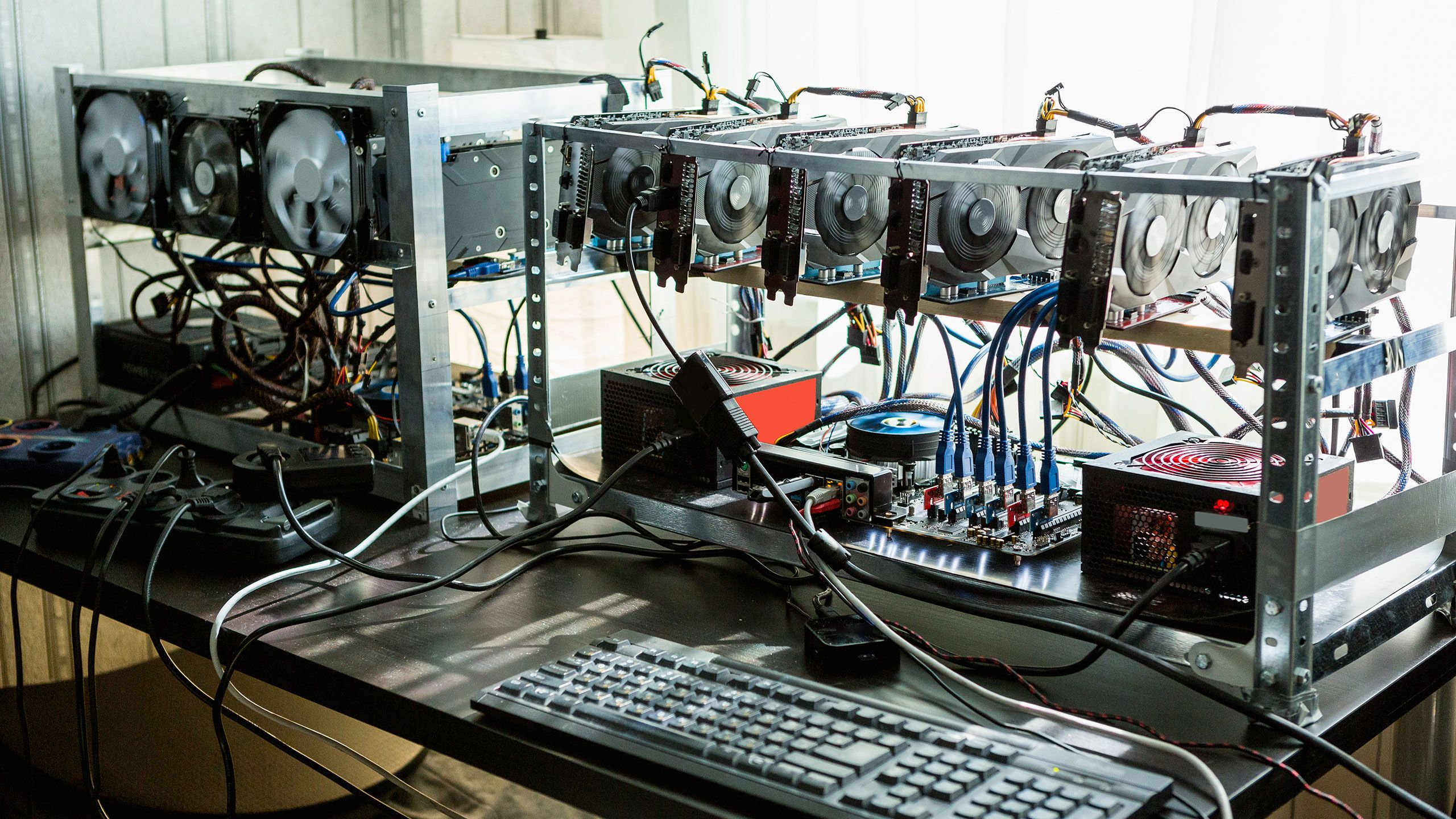 cryptocurrency mining using a pc