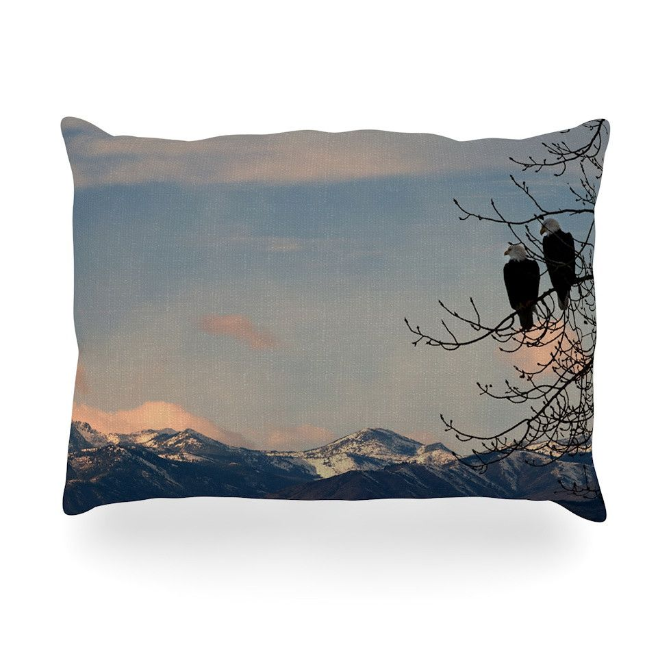 "Robin Dickinson ""Majesty"" Nature Landscape Oblong Pillow"