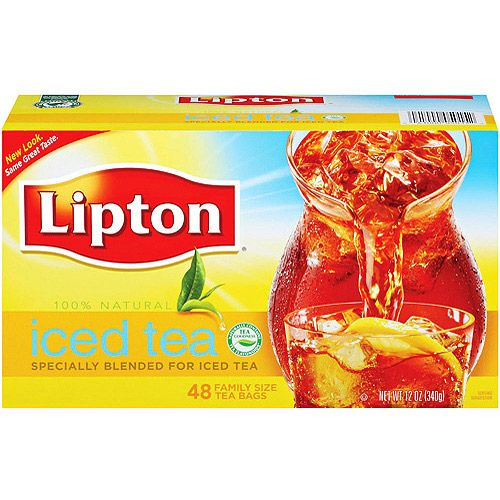 Lipton Iced Tea Bags A Great Thirst Quencher