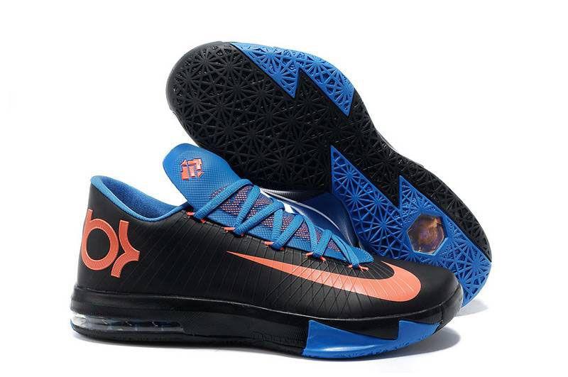 Nike KD VI Aqua Green Orange Teal Navy Shoes | Shoe | Pinterest | Nike kd  vi, Navy shoes and Teal