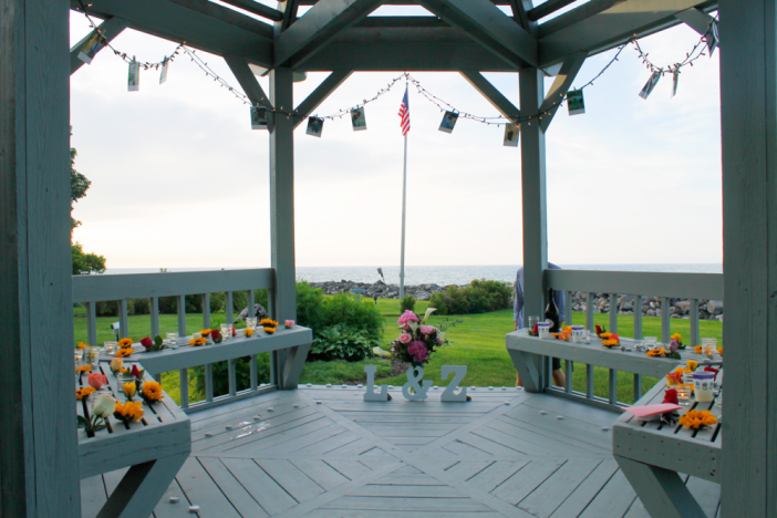Romantic Decorated Gazebo Proposal Idea Proposals Romantic And