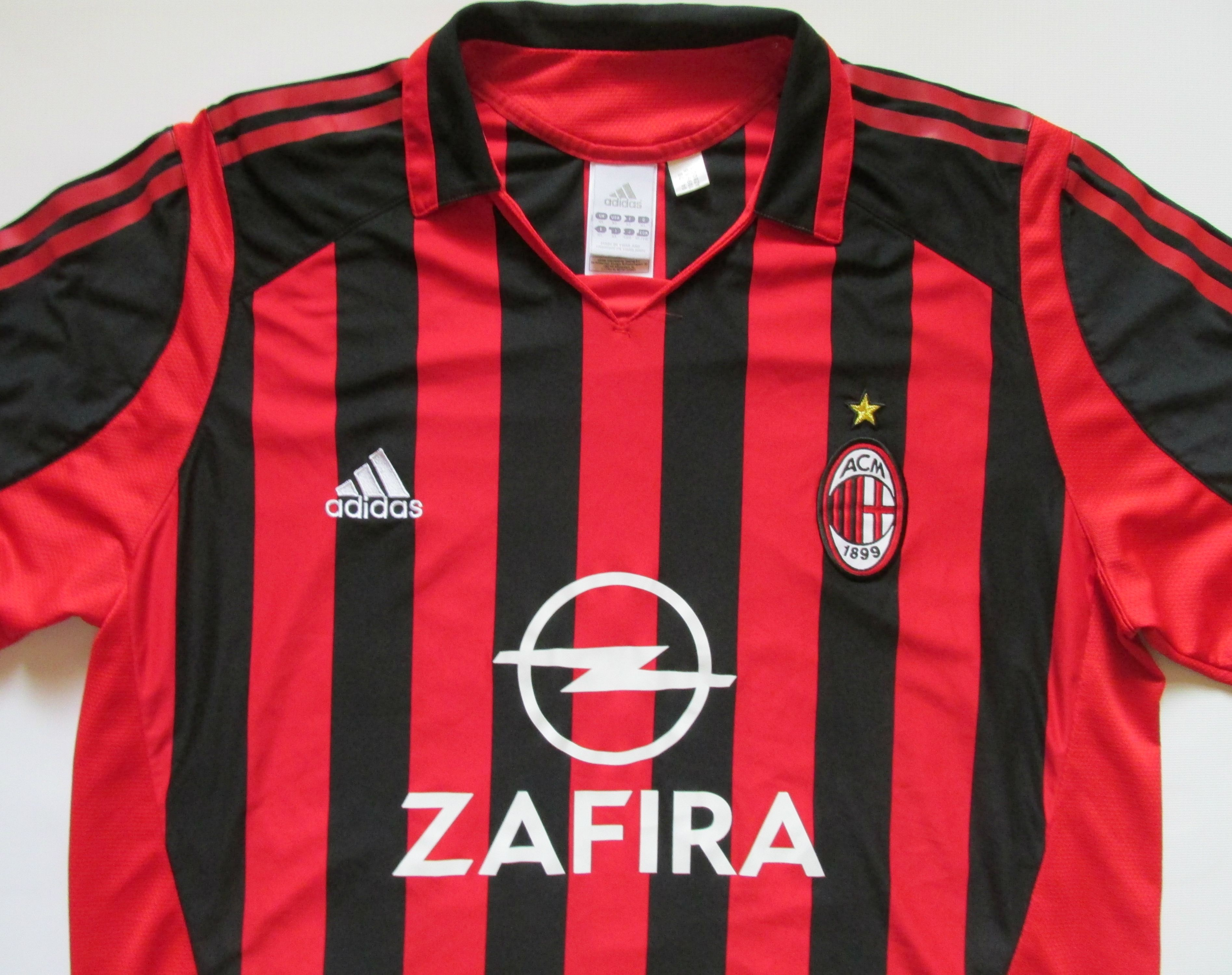 AC Milan 2005 2006 home football shirt by Adidas calcio maglia ACM Italy  Italia SerieA b1df914fa