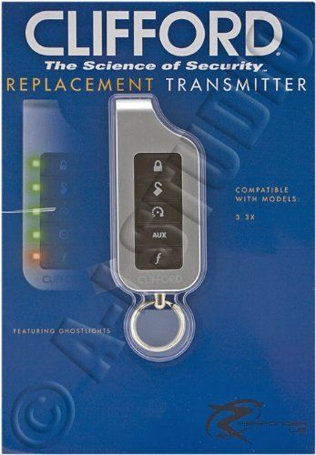 Clifford 7251x Responder Le Replacement Remote Control Compatible With Clifford 3 3x By Clifford 54 99 Re Electronic Accessories Car Electronics Car Safety