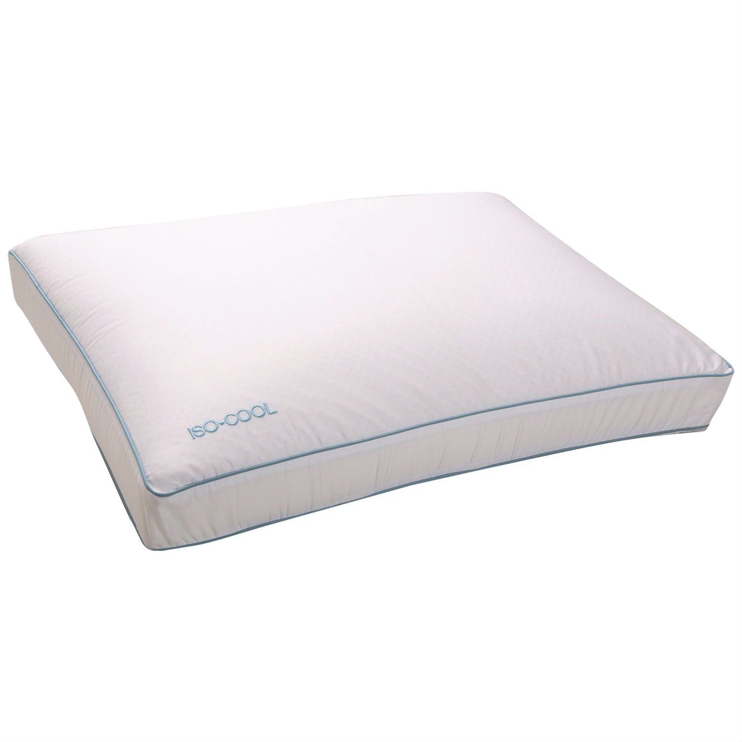 Side sleeper memory foam pillow with cotton cover standard