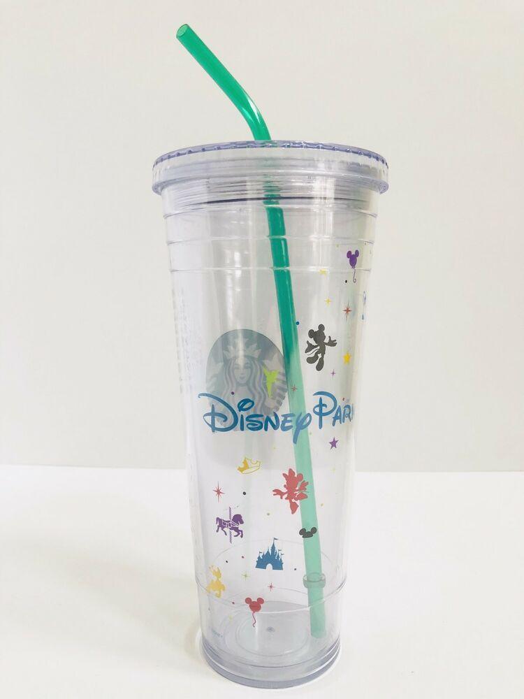 c3d65b289a6 Disney Parks Starbucks Cold Cup Venti 24oz Acrylic Tumbler with ...