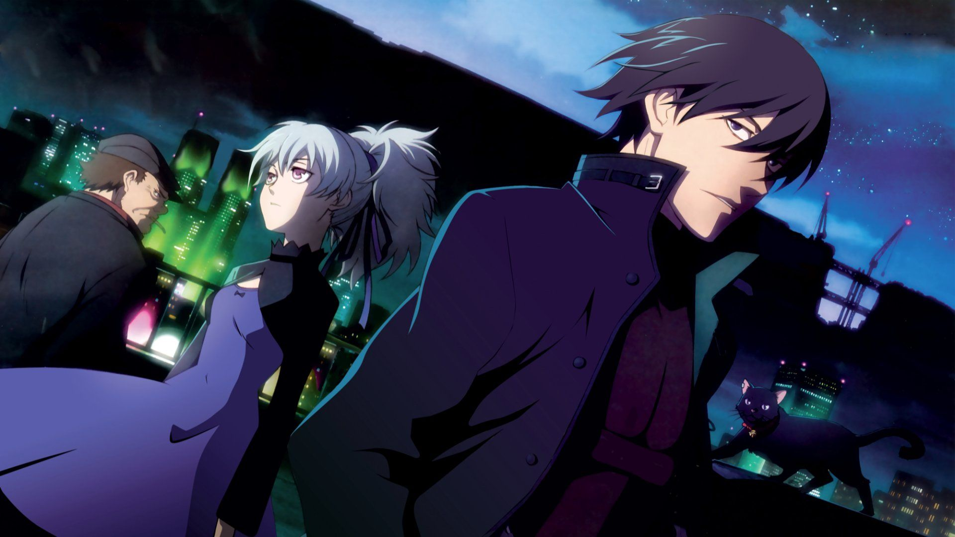darker than black | anime | pinterest | dark, hd wallpaper and anime