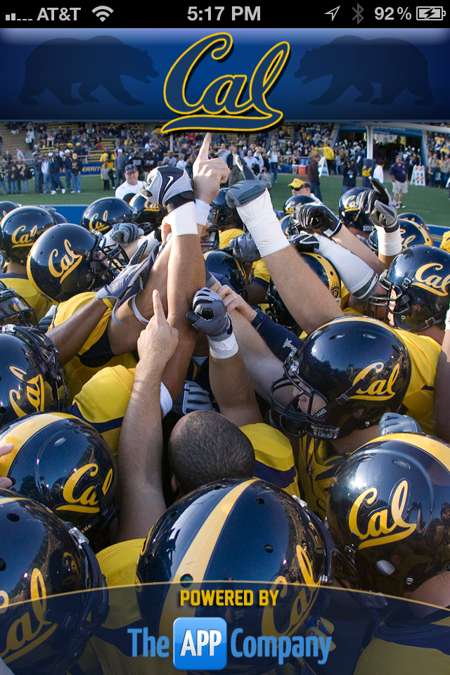 Cal Berkeley Football