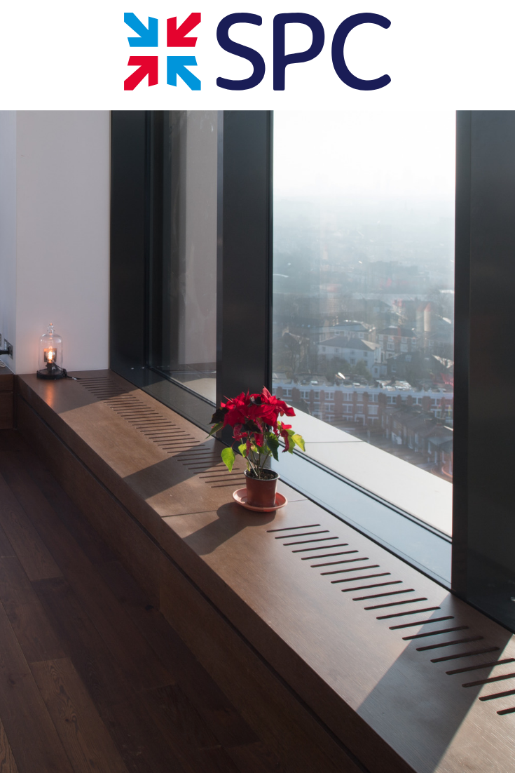 Spc Trench Heating Cooling Units Housed In A Luxurious Wood