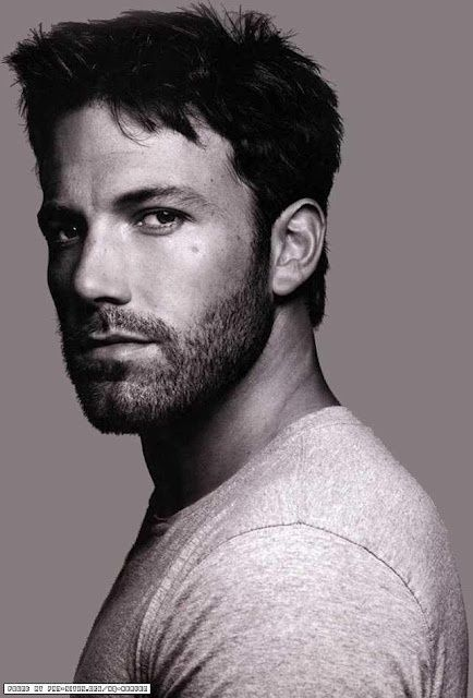 Attractive men with facial hair