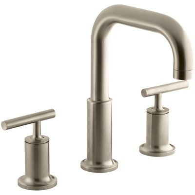 Kohler Purist For Two Deck Mount Bath Faucet Trim For High Flow